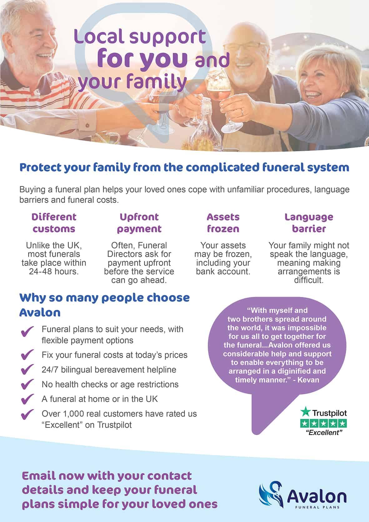 Avalon flyer explaining details
